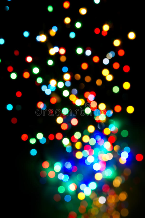 Download Colorful lights fly stock image. Image of christmas, yellow - 22254517