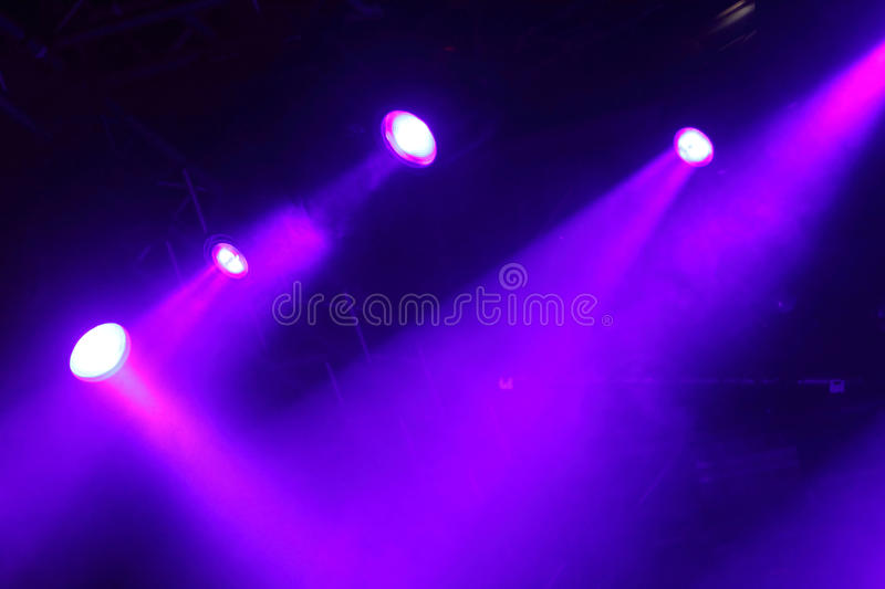 Download Colorful Lights In A  Stage Stock Photo - Image: 10023182