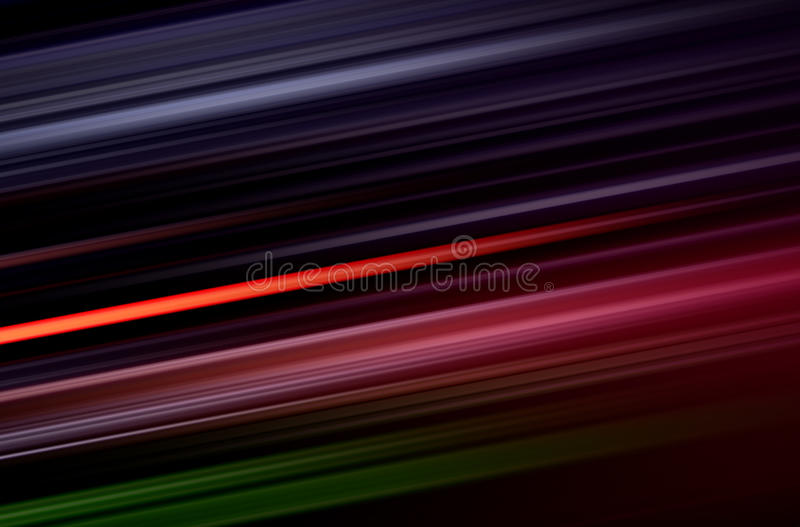 Colorful lines blurred pattern on black. Abstract digital background with shining colorful lines blurred pattern on black vector illustration