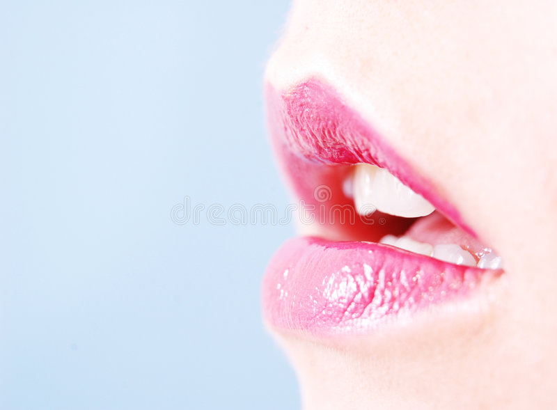 Colorful lips royalty free stock photos