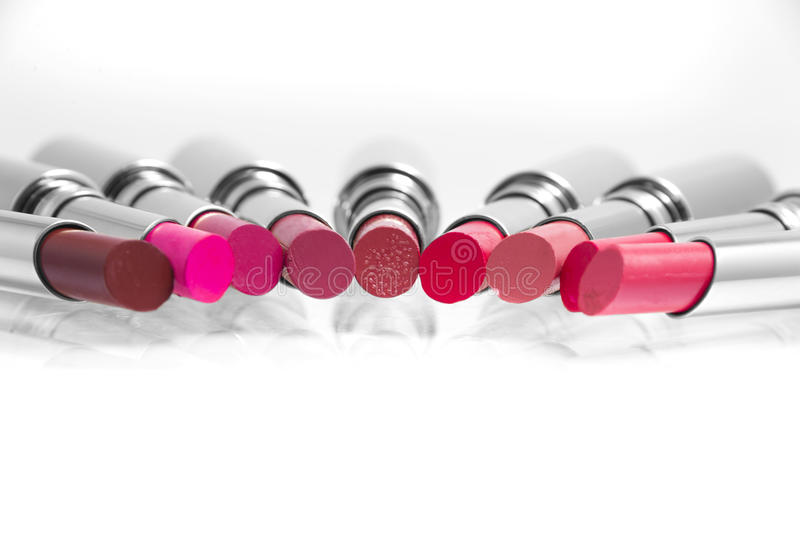 Colorful Lipstick stock images