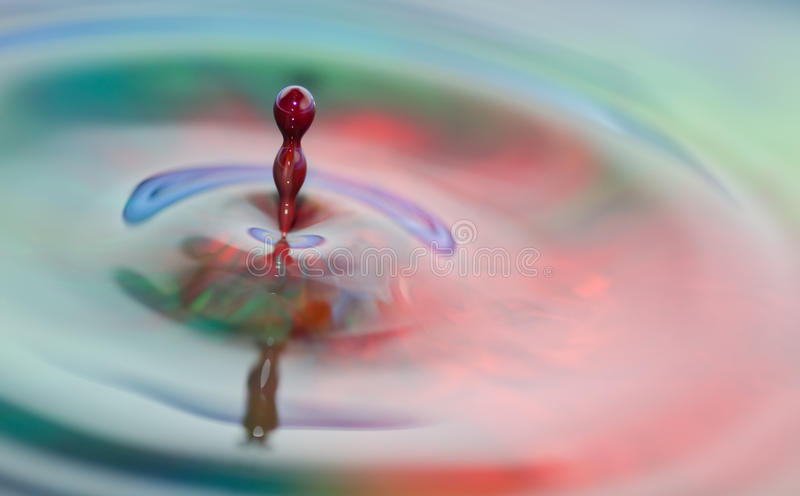 Download Colorful Liquid Splash Stock Image - Image: 21544971