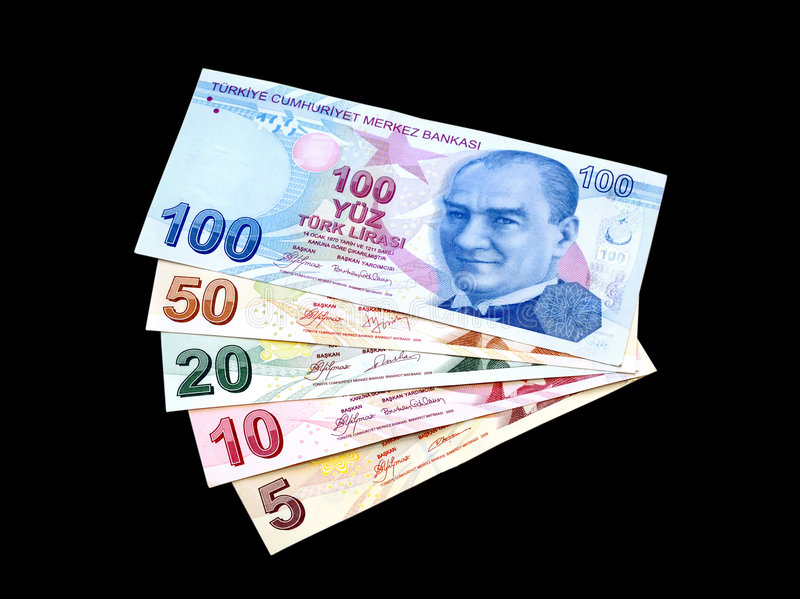 Download Colorful Liras stock photo. Image of europe, devaluation - 8477866