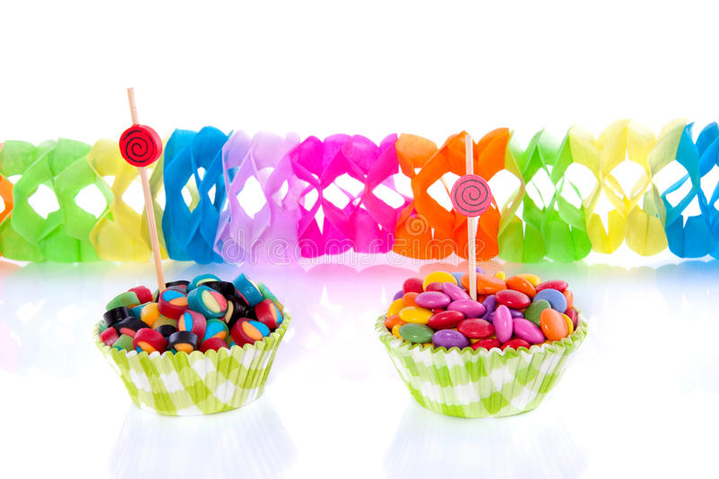 Colorful little candy royalty free stock image