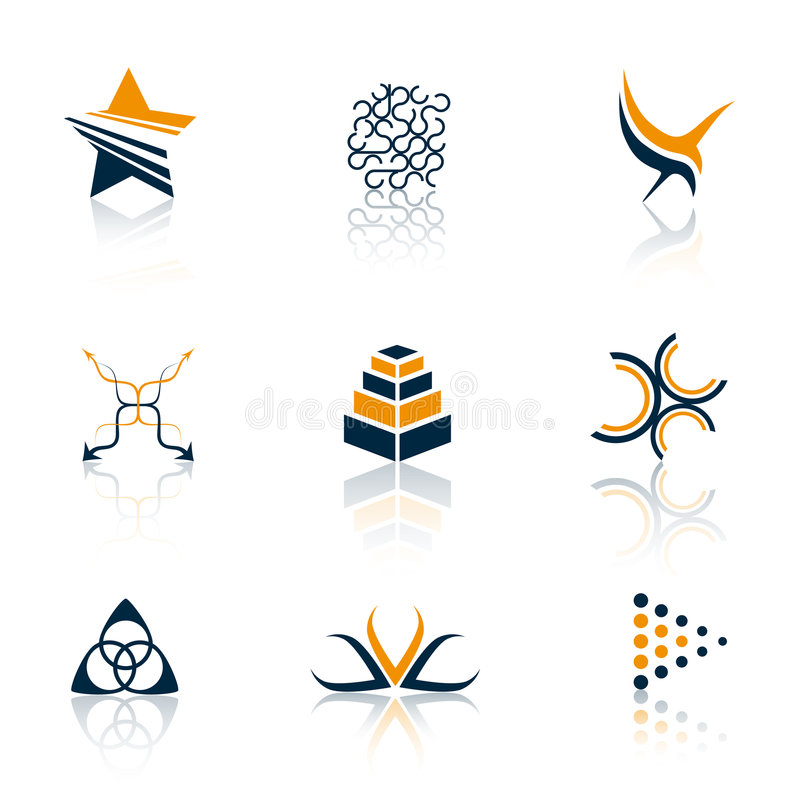 Download Colorful logos stock vector. Image of internet, icon, drawing - 5448710