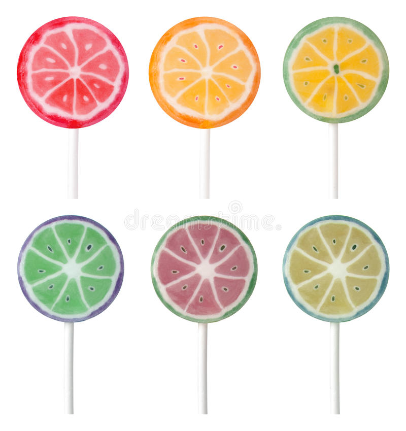 Download Colorful lollipops stock image. Image of treat, flavor - 22311239