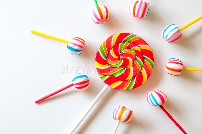 Download Colorful Lollipops stock photo. Image of group, confectionery - 26904330