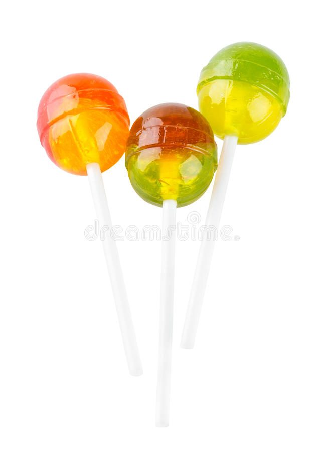 Download Colorful lollipops stock image. Image of sucker, white - 29487501
