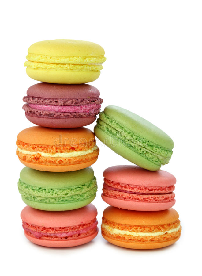 Free Colorful Macaroons Stock Images - 16011974