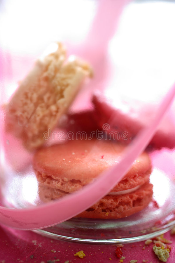 Download Colorful Macaroons In Box Stock Image - Image: 7540551