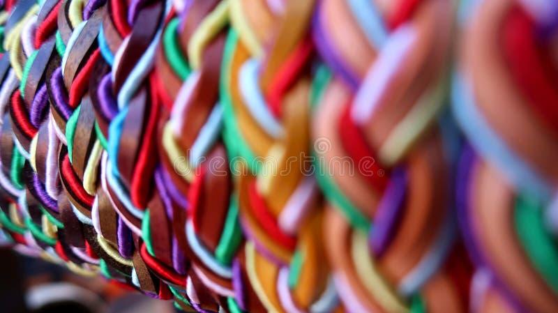 Colorful macro depth photography stock image