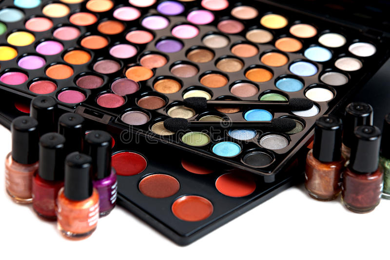 Download Colorful makeup kit stock image. Image of color, beauty - 20237377