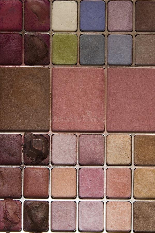 Download Colorful makeup pallet stock photo. Image of shapes, design - 13092998
