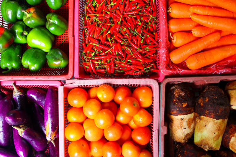 Download Colorful market produce stock image. Image of farmer - 27621769