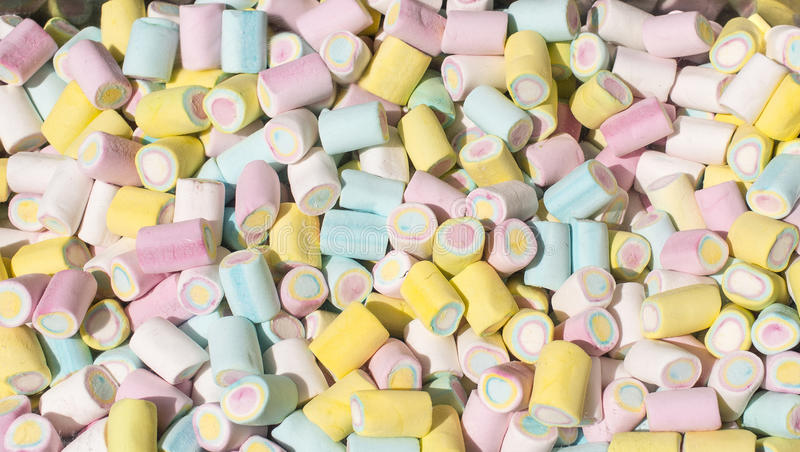 Download Marshmallow stock photo. Image of closeup, many, blue - 29965996