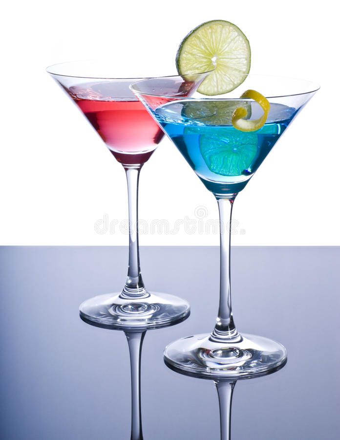 Free Colorful Martini Cocktails Stock Photos - 17749693