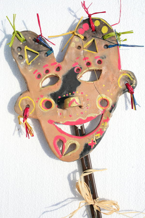 Colorful mask royalty free stock images