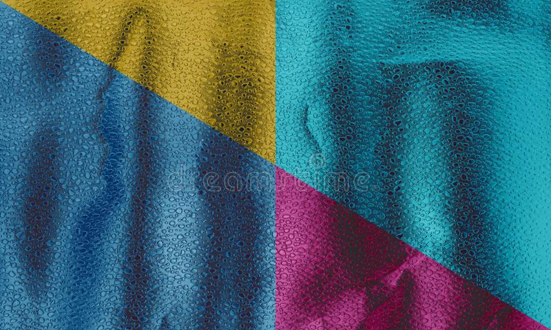 Colorful metallic texture vintage toned, Abstract colors texture background royalty free stock photography