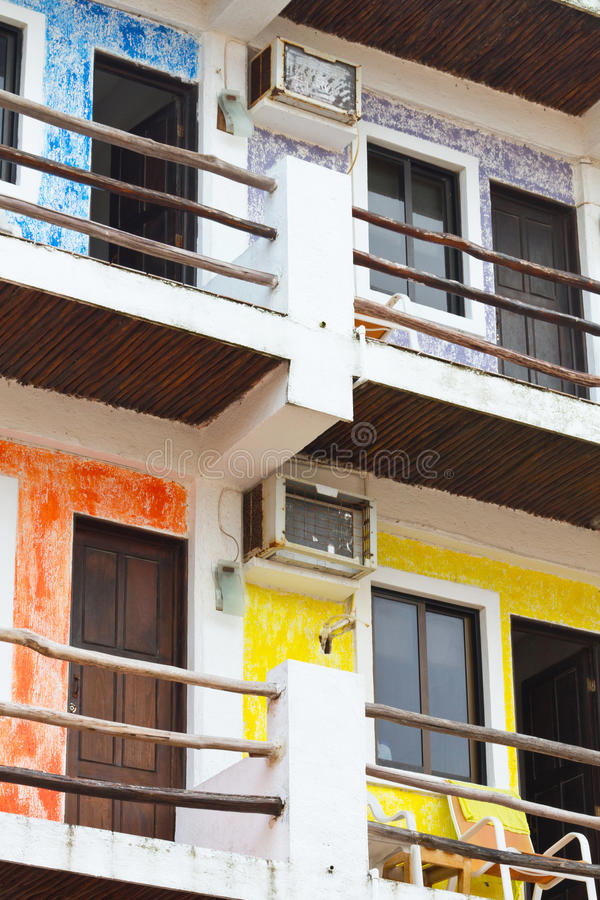 Download Colorful Mexican Apartments Stock Photo - Image of culture, construction: 20995730
