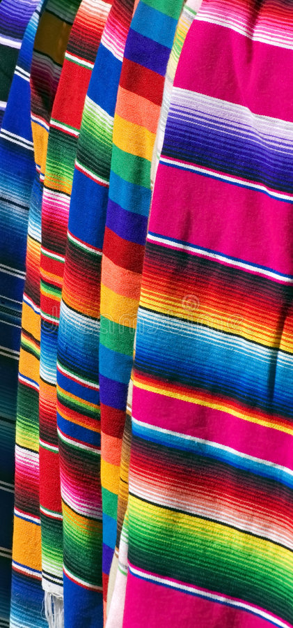 Colorful Mexican Serapes Two