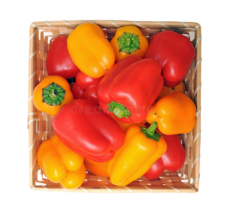 Colorful Mini Bell Pepper Stock Photos