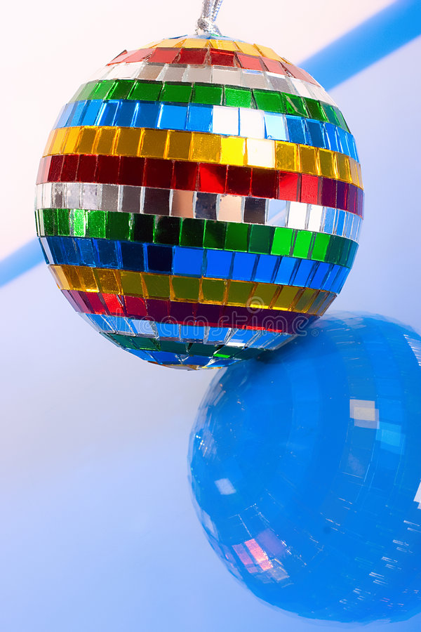 Colorful Mirror-ball Royalty Free Stock Images