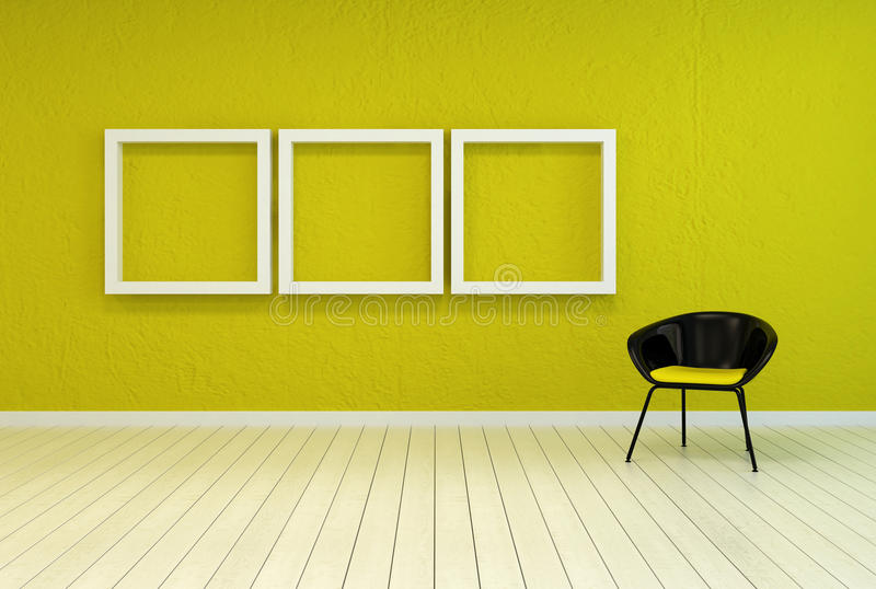 Colorful Modern Art Gallery Interior Stock Illustration ...