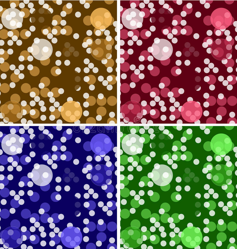 Colorful modern geometric vector backgrounds set royalty free illustration