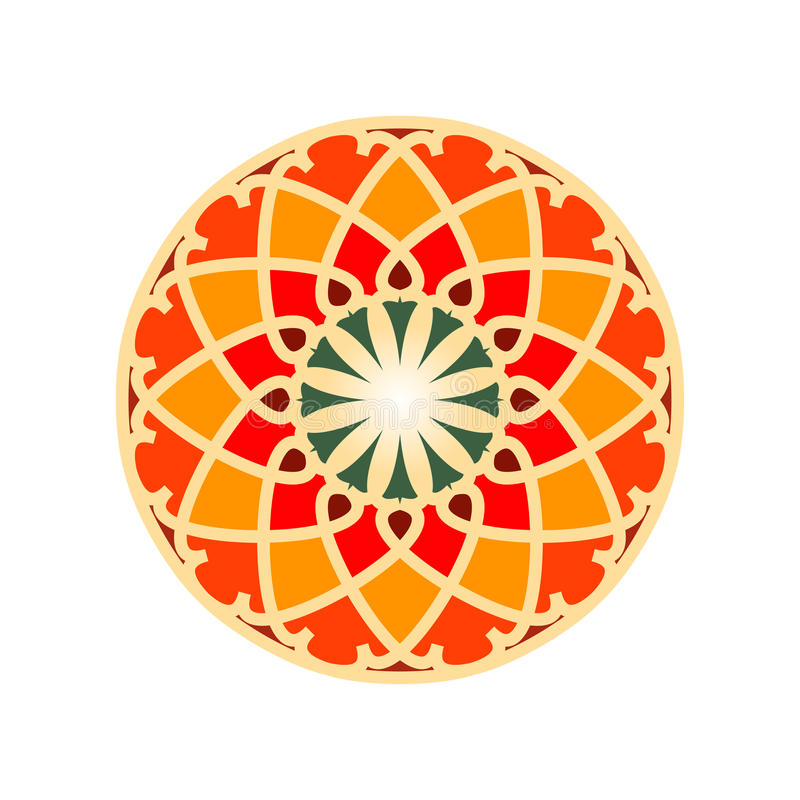 Colorful Moroccan tiles ornaments. vector illustration