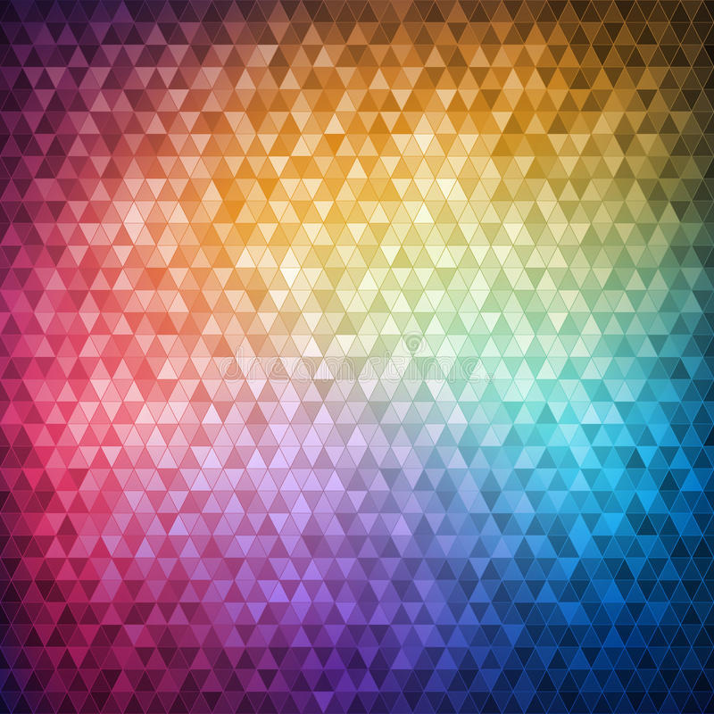 Colorful Mosaic Stock Image