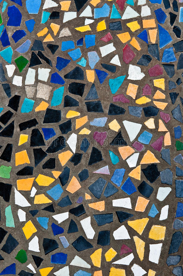 Download The Colorful of mosaic stock photo. Image of geometric - 26556528