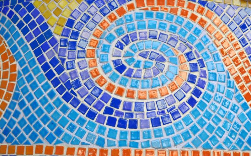 Colorful mosaic arts stock image