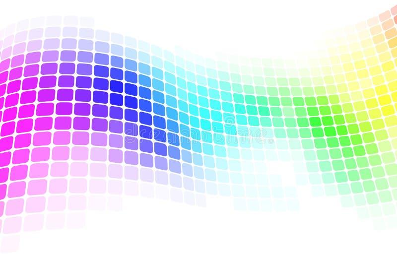 Colorful mosaic background stock illustration