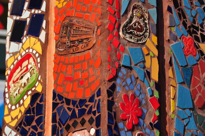 Colorful Mosaic Ceramic Tile stock images