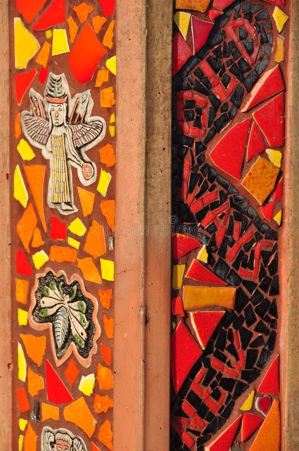 Colorful Mosaic Ceramic Tile royalty free stock image
