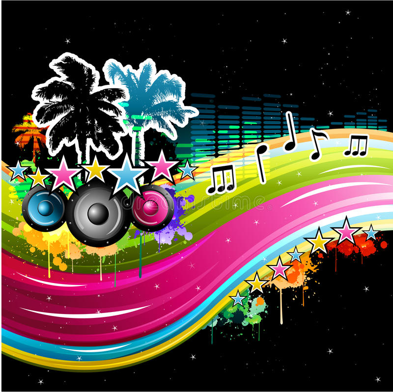 Download Colorful Music Background Stock Photography - Image: 18995422