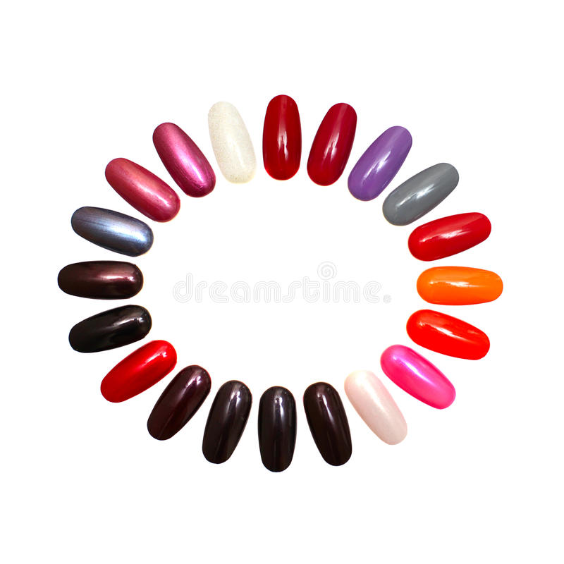 Download Colorful Nails - Design Element Stock Image - Image: 20080699
