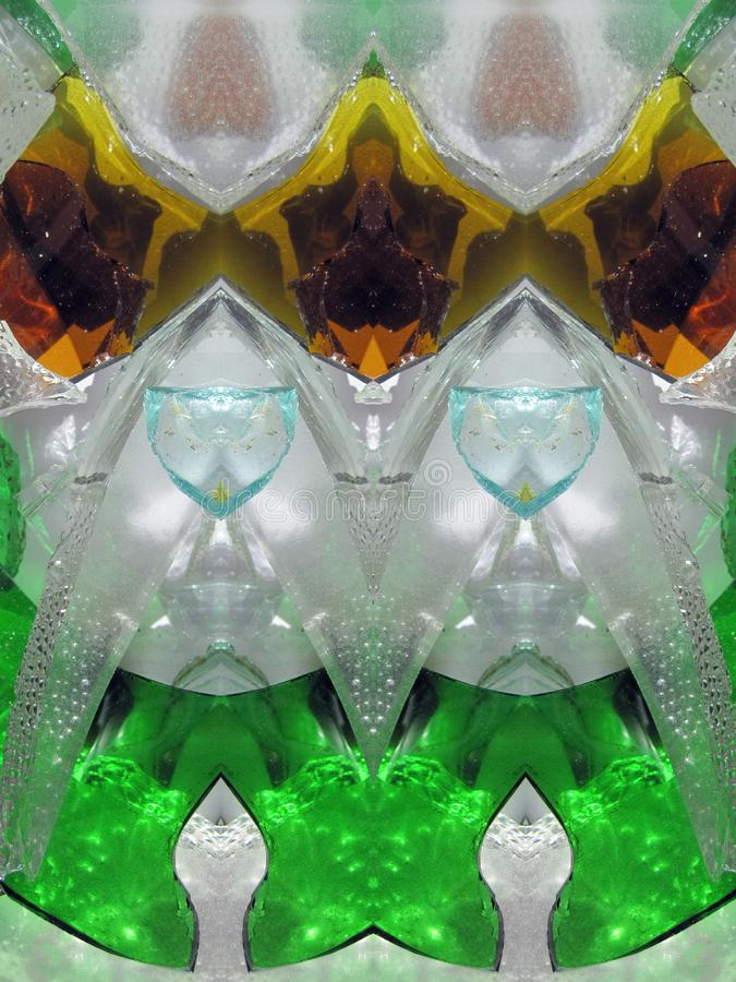 Colorful natural glass surface texture royalty free stock photography
