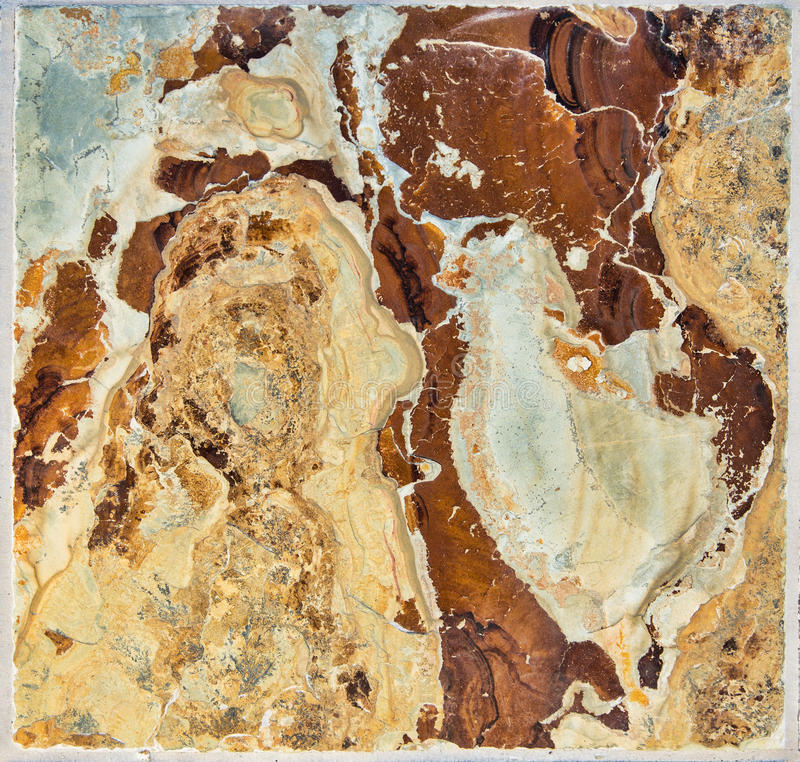 Colorful natural stone tile stock image