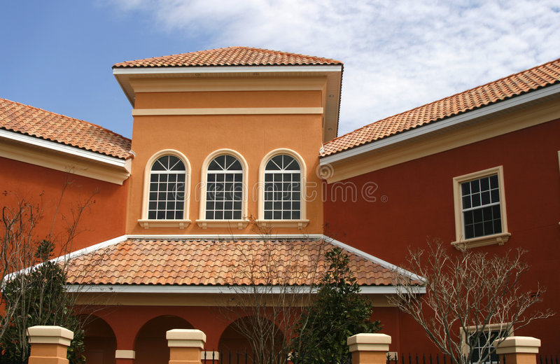 Download Colorful New Commercial Building Stock Photography - Image: 2066832