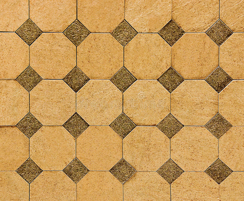 Colorful of old ceramic floor royalty free stock images