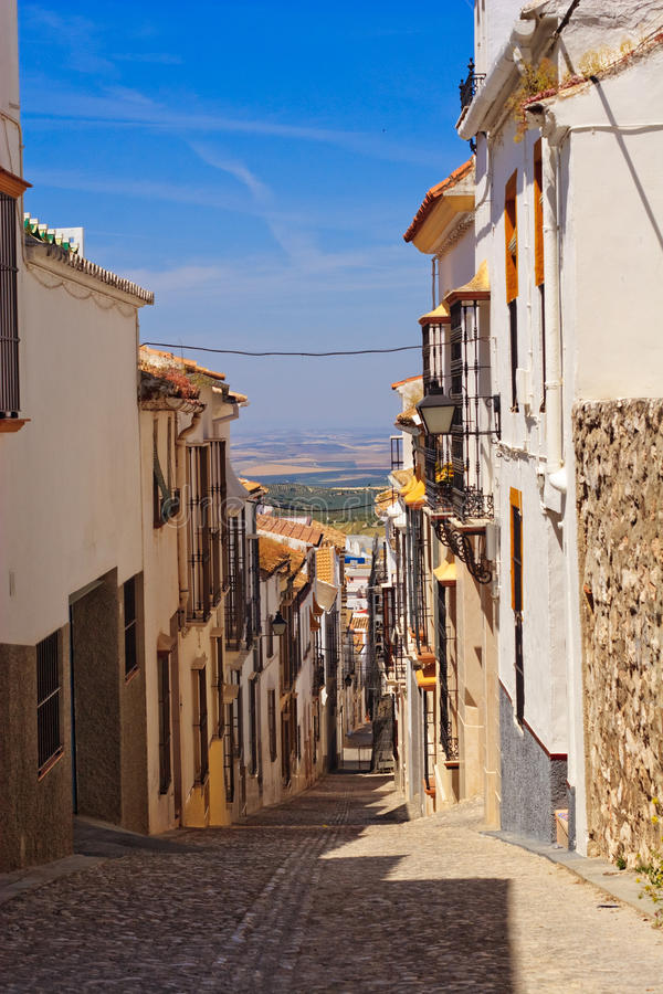 Download Colorful Old Narrow City Street Royalty Free Stock Image - Image: 11125186