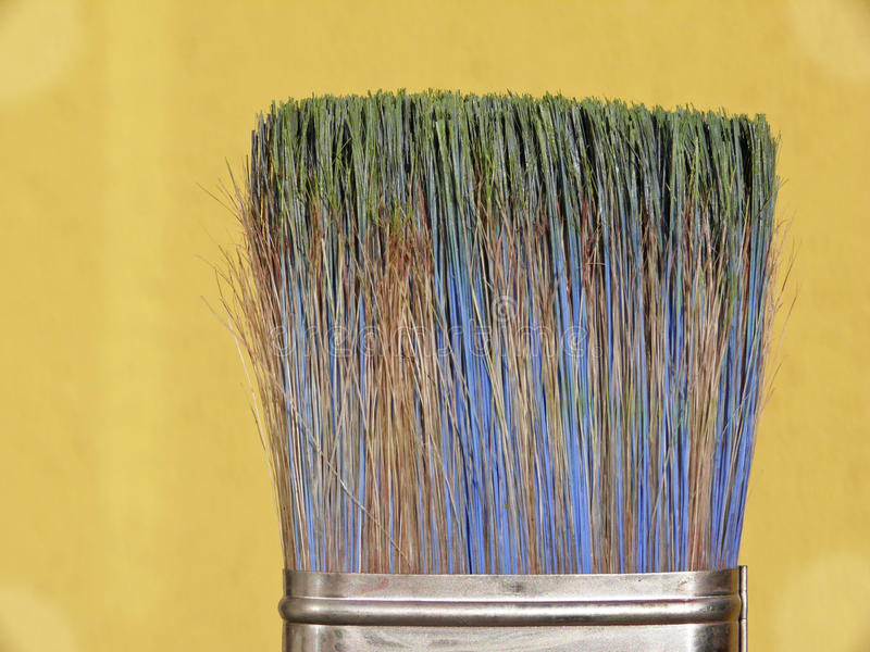 Colorful Paint Brushes Royalty Free Stock Photography
