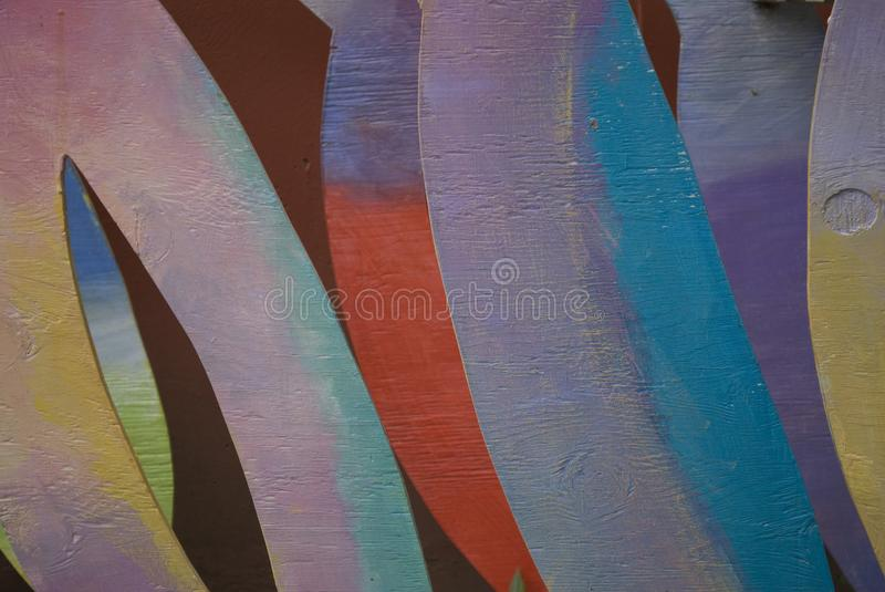 Colorful Abstract Shapes royalty free stock image
