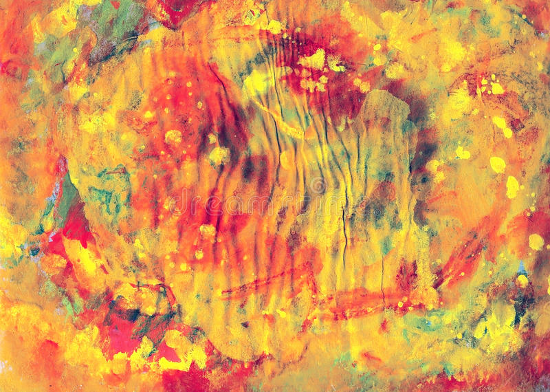 Colorful paints canvas, art royalty free stock image