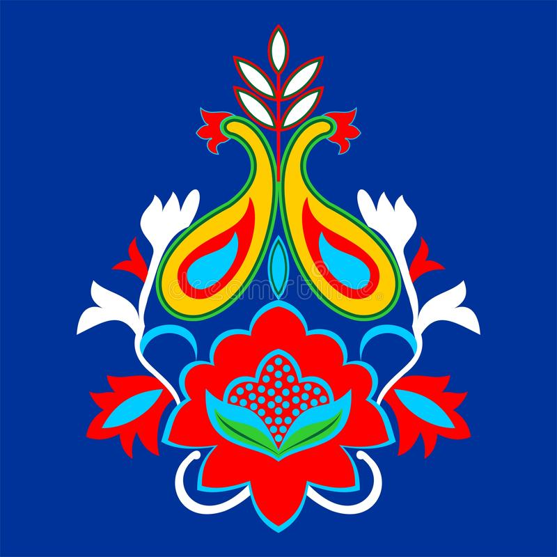 Colorful paisley designing element for use in garment , laser cutting and printing , computer generated design. Useful for many purpose like , printing , screen stock illustration
