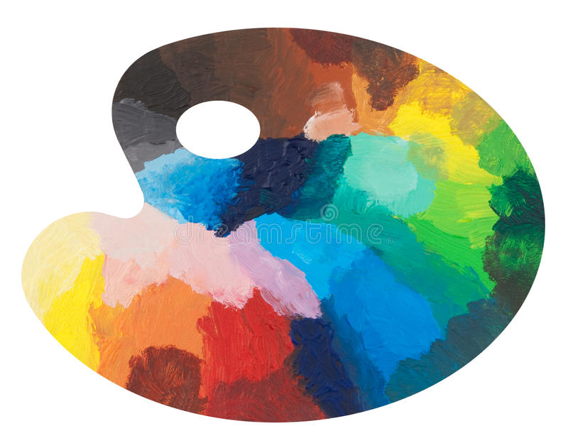Download Colorful Palette Royalty Free Stock Photos - Image: 15869258
