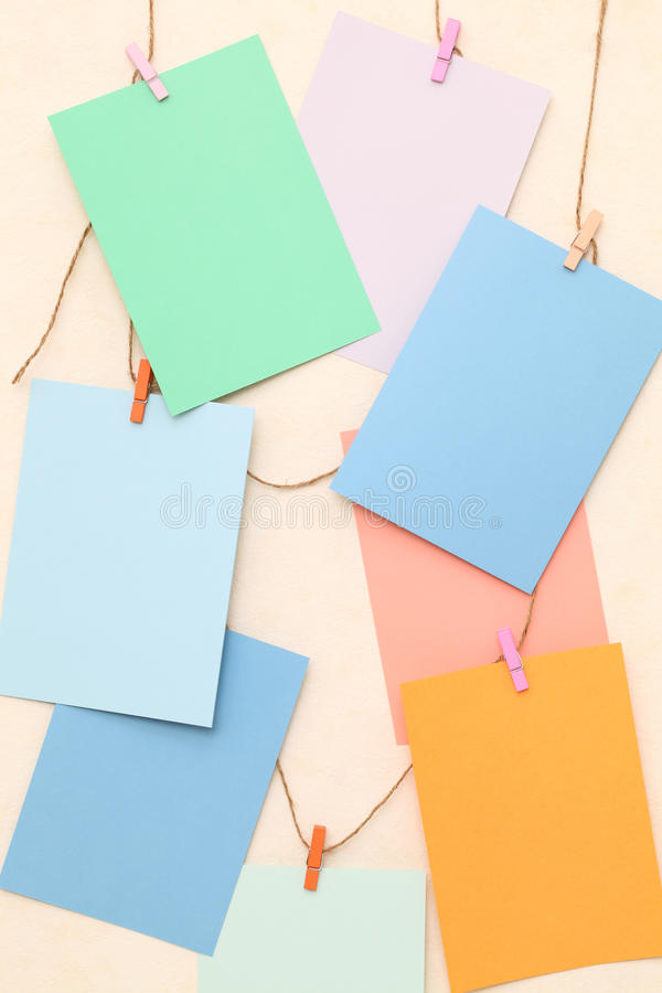 Download Colorful paper stock image. Image of concept, communication - 25370417