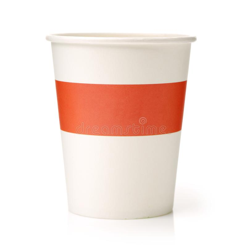 Colorful Paper Cup stock photos