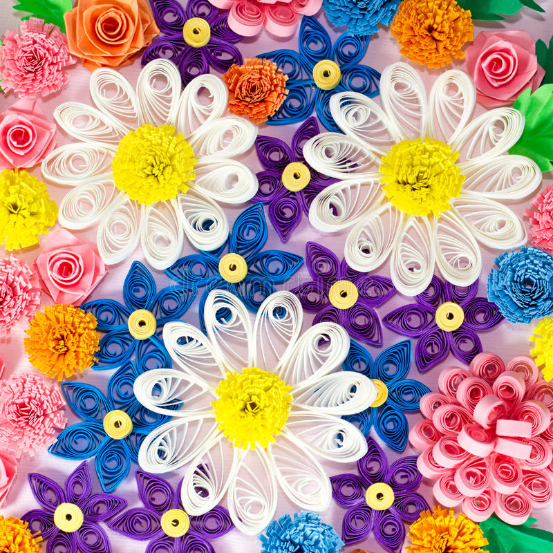 Colorful paper quilling flowers stock image image of paper download colorful paper quilling flowers stock image image of paper closeup 33047873 mightylinksfo